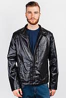 Куртка мужская из эко-кожи 19P053 (Черный)