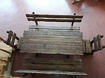 Набір №1 ГЕНУЯ 2,0 м брашированый 8 стільців, фото 2