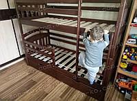 Двоярусне ліжко з масиву бук Денис Львів