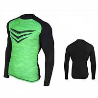 Спортивная мужская футболка Radical Rashguard Smite LS (Польша) с длинным рукавом, дышащая, быстросохнущая