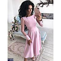 Вечірня сукня з креп-костюмки кльош + рукав з сітки 31e97cd83c57f
