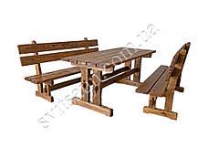 Набор №1 ГЕНУЯ  2,0м брашированый 8 стульев, фото 3