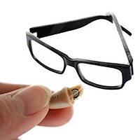 Скрытый беспроводный микронаушник для экзаменов  в виде очков «Элита-люкс + очки»