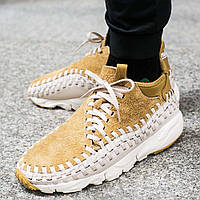 "Оригинальные кроссовки Nike Air Footscape Woven Chukka QS ""Flat Gold"""