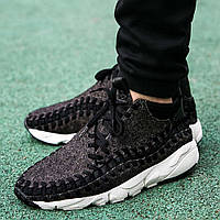 "Оригинальные кроссовки Nike Air Footscape Woven Chukka SE ""Black Ivory"""