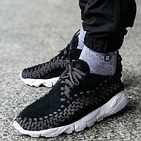 "Оригинальные кроссовки Nike Air Footscape Woven NM ""Black/Anthracite"""