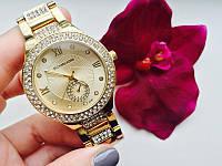 Часы Майкл Корс наручные женские часы золото с камнями