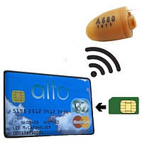 Индукционный звуковой передатчик с GSM модулем комплект с микронаушником ELITA GSM IVS400SET