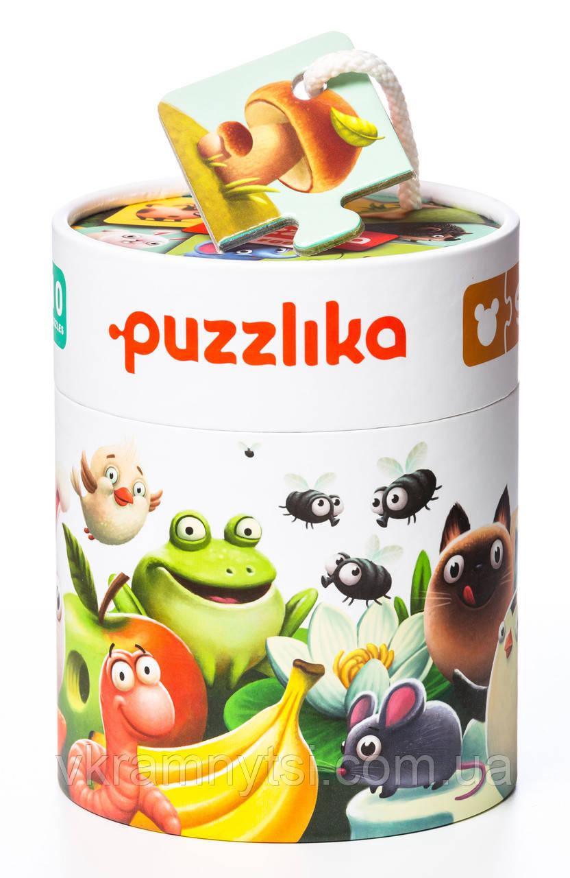 """Розвиваючі пазли Puzzlika """"Моя їжа"""", 20 елементів"""