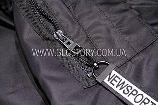 Теплый длинный бомбер Glo-story, Венгрия, фото 2