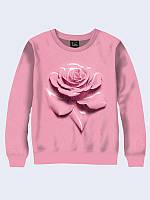 Світшот жіночий/підлітковий unisex PINK ROSE, фото 1