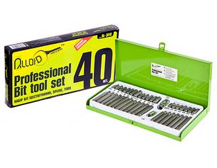 Набор бит шестигранных Alloid 40 предметов (НБ-3840)