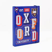 """Папка для тетрадей картонная на резинке """"Оксфорд""""В5 (25х17,6 см)"""