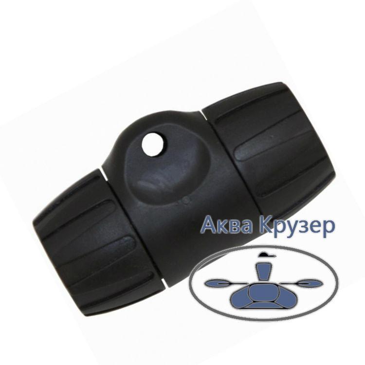 Муфта весла цанговая подвижная Kolibri, цвет черный