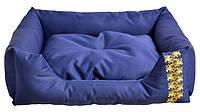 Лежак Noble Pet Richard 55 х 45 x 15 см Синий (R2119/85)