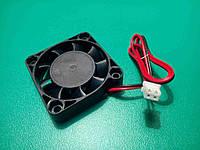 Вентилятор охлаждения экструдера 2pin 12 В (короткий) для 3D-принтера, фото 1