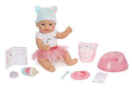 Интерактивная кукла пупс оригинал Baby Born Interactive Baby Doll Blue