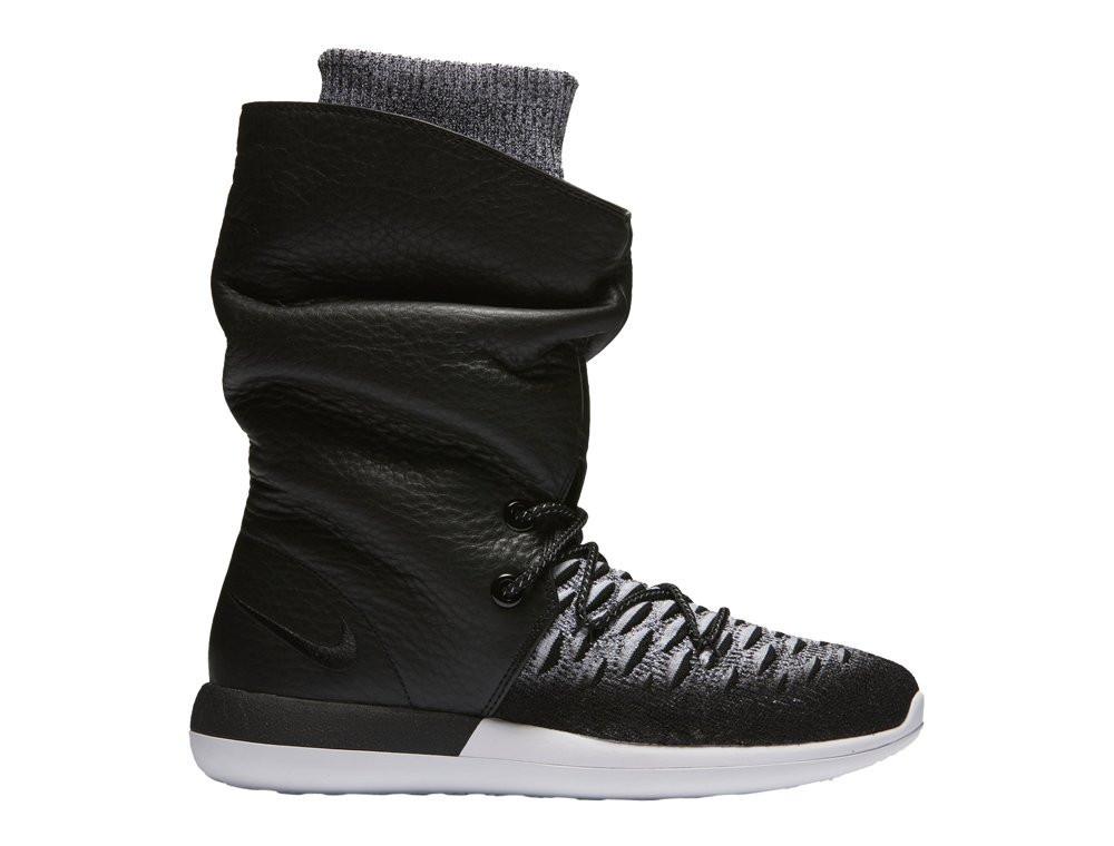 "Женские кроссовки  Nike Wmns Roshe Two Hi Flyknit ""Black""  861708-002"