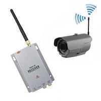 Комплект из беспроводной уличной камеры 800 TVL до 700 метров + приёмник видеосигнала (мод. LIB24W kit), фото 1