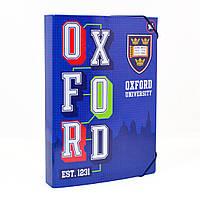 """Папка для труда на резинке картонная """"Оксфорд"""" А4 (29,7*21 см)"""