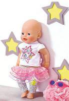 """Комплект одежды для Baby Born """"Гламурный наряд Deluxe"""" с очками"""