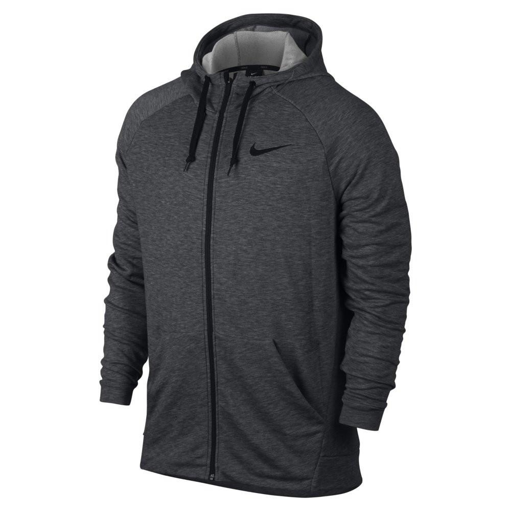 Оригинальная Кофта Nike Dry Hoodie Full-Zip Fleece Grey 860465-071
