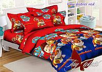 Комплект постельного белья Paw Patrol red