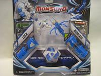 Набір для битви на 2 гравця Monsuno Core-Tech LOCK і BIOBLAZE (Сombat 2-Packs) W5 (2 фігурки, 2 капс(34440-42936-MO)