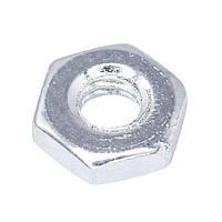 Гайка шестигранная М2,5; сталь; покрытие цинк; BN:124; шаг 0,45мм (B2.5/BN124-Bossard)