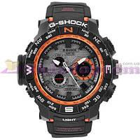 Часы наручные G-SHOCK MTG-S1000 Вlack-Orange