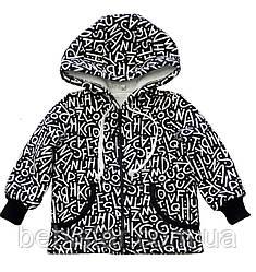 Весенняя куртка парка дизайн с манжетами для малыша 1-3 года