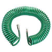 Шланг спиральный полиуретановый 15м 8×12мм Refine (7012281)