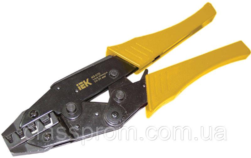 Клещи обжимные КО-07Е 10-35мм для Е-типа IEK