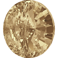 Пуговицы Swarovski 3015 Crystal Golden Shadow
