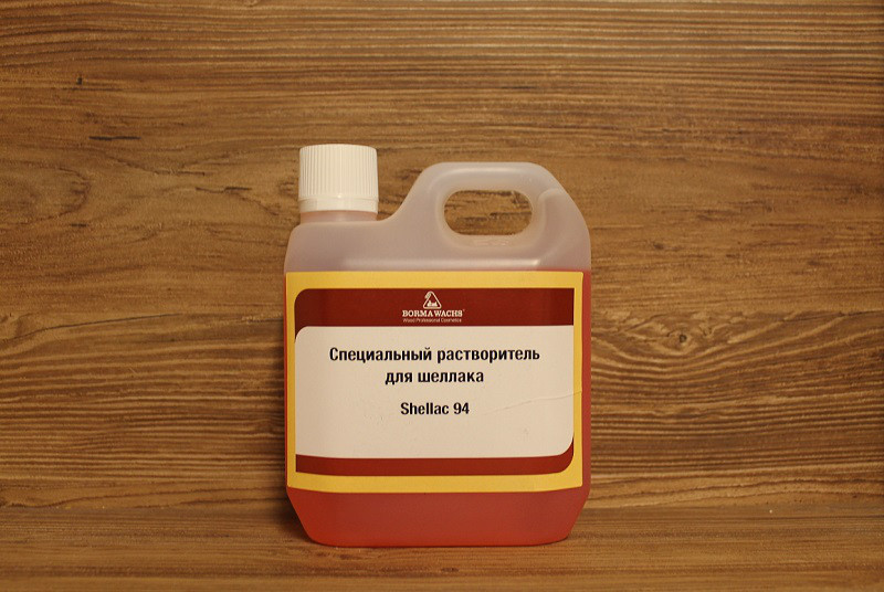 Растворитель для шеллака, Borma Wachs, Decoration Line, Shellac 94, 1 литр