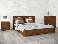 Ліжко Маріта N 200*200 бук Олімп, фото 1