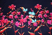 Ткань костюмка Гуччи дизайн купон двухсторонний, фото 1