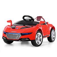 Детский электромобиль AUDI M 2448 EBLR-3: 36W, 6 км/ч, EVA, кожа - КРАСНЫЙ - купить оптом , фото 1