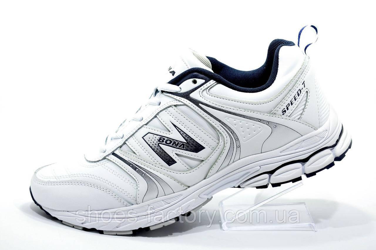 Белые кроссовки Bona, Унисекс