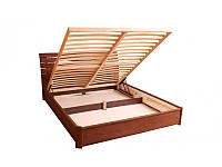 Кровать Марита N с ПМ 200*200 бук Олимп, фото 1