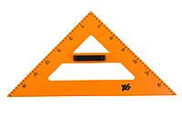 Треугольник равносторонний с ручкой для школьной доски