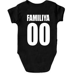 Детское боди с фамилией и номером (2)