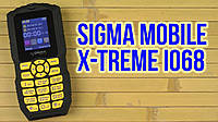 Защищенный телефон Sigma mobile X-treme IO68 Bobber black-yellow