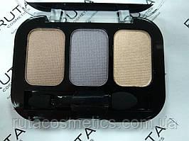Parisa Cosmetics Eye Shadow Trio тройные тени для век (10) перламутровые