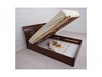 Ліжко Маріта V з ПМ 200*120 бук Олімп, фото 1