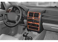 Audi A2 1999-2005 Накладки на панель под титан Meric