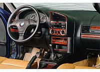 BMW E46 Накладки на панель под дерево Meric
