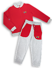 Детский костюм - красный 4122