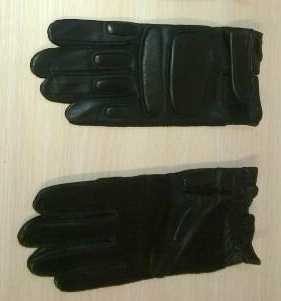 Перчатки кожаные армейские