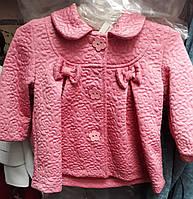 Весенняя нарядная кофта пальтишко для девочки